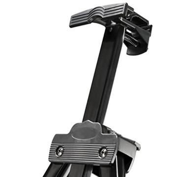 Walimex pro Aluminium Atelierstaffelei XL 180 cm - Grosse Staffelei mit weitem Einsatzbereich, für Leinwand bis 140cm Höhe und 4cm Tiefe, nur 1,12kg, Halterung für Farben, Pinsel, Tücher, inkl. Tasche - 6