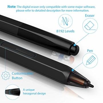 XP-PEN Artist 12 Grafikmonitor Drawing Pen Tablet Pen Display 1920 X 1080 HD IPS mit Touch Bar Zeichnen Stift P06 mit dem Radiergummi zum Fernunterricht Home-Office (Artist 12) - 5