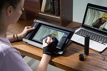 XP-PEN Artist 12 Grafikmonitor Drawing Pen Tablet Pen Display 1920 X 1080 HD IPS mit Touch Bar Zeichnen Stift P06 mit dem Radiergummi zum Fernunterricht Home-Office (Artist 12) - 7