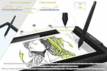 XP-PEN Artist 12 Pro 11,6 Zoll Grafiktablett mit Pen IPS Display Drawing Tablet 60° Neigungserkennung für Fernunterricht Home-Office - 3
