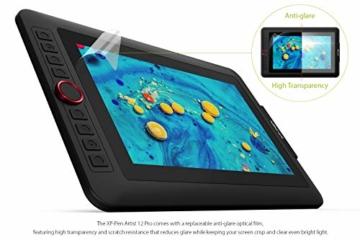 XP-PEN Artist 12 Pro 11,6 Zoll Grafiktablett mit Pen IPS Display Drawing Tablet 60° Neigungserkennung für Fernunterricht Home-Office - 5