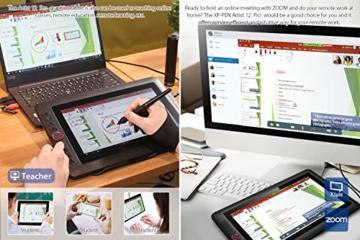 XP-PEN Artist 12 Pro 11,6 Zoll Grafiktablett mit Pen IPS Display Drawing Tablet 60° Neigungserkennung für Fernunterricht Home-Office - 6
