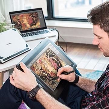 XP-PEN Artist15.6 IPS Zeichen-Display Pen Tablet 8192 Druck-Sensitivität batterielos Stift mit Grafikshandschuh Stifthalter Reinigungstuch Spitze - 2