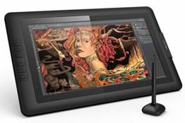 XP-PEN Artist15.6 IPS Zeichen-Display Pen Tablet 8192 Druck-Sensitivität batterielos Stift mit Grafikshandschuh Stifthalter Reinigungstuch Spitze - 1