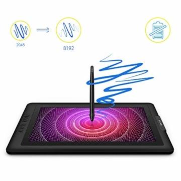 XP-PEN Artist15.6 IPS Zeichen-Display Pen Tablet 8192 Druck-Sensitivität batterielos Stift mit Grafikshandschuh Stifthalter Reinigungstuch Spitze - 8