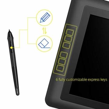 XP-PEN Artist15.6 IPS Zeichen-Display Pen Tablet 8192 Druck-Sensitivität batterielos Stift mit Grafikshandschuh Stifthalter Reinigungstuch Spitze - 9