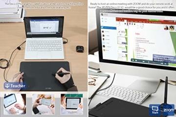 XP-PEN Deco 01 V2 Grafiktablett Drawing Tablet Neigungsfunktion Mobiles Zeichentablett zum Malen & für Fotobearbeitung für Fernunterricht Home-Office - 8