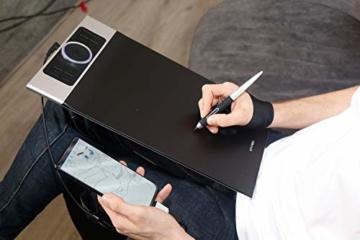 XP-PEN Deco Pro Medium 15x8 Zoll Grafiktablett Pen Tablet Mobiles Zeichentablett zum Malen für Fernunterricht Home-Office mit Doppelrad 8192 Druckstufen - 7