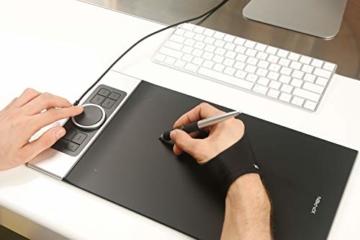 XP-PEN Deco Pro Medium 15x8 Zoll Grafiktablett Pen Tablet Mobiles Zeichentablett zum Malen für Fernunterricht Home-Office mit Doppelrad 8192 Druckstufen - 10