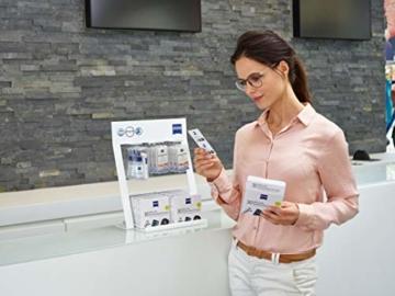 ZEISS Brillen-Reinigungstücher (200 Stk), NEUE Formulierung zur schonenden & gründlichen Reinigung Ihrer Brillengläser - 6