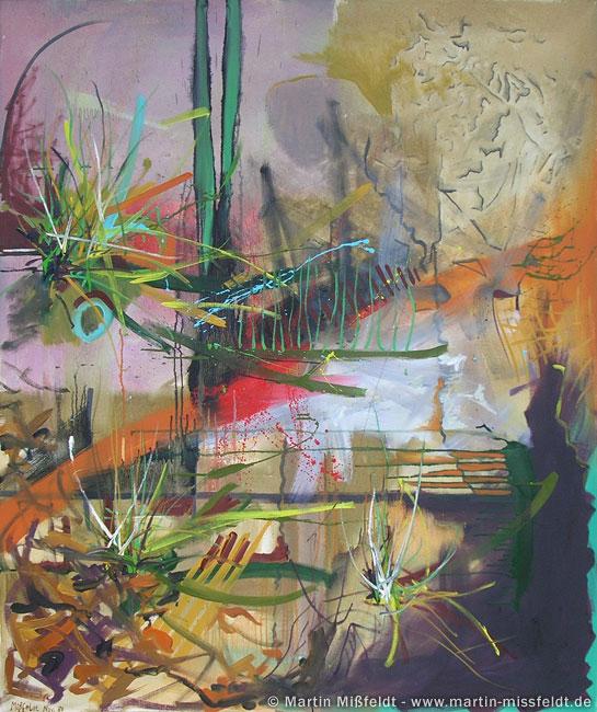 Abstrakte Malerei - Ölgemälde von Mißfeldt