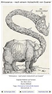 FreasyGallery Logo: Rhinogiraffe