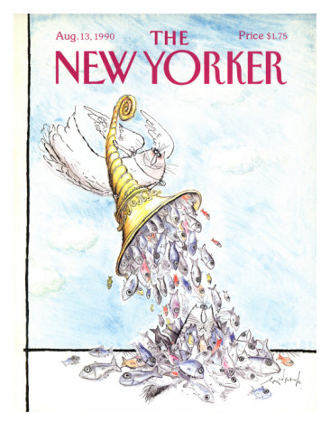 Ronald Searle: Cover vom New Yorker