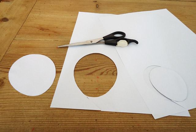 Osterei Vorlage ausdrucken und ausschneiden