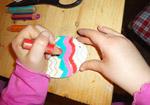 Ostereier aus Holz anmalen (Anleitung)